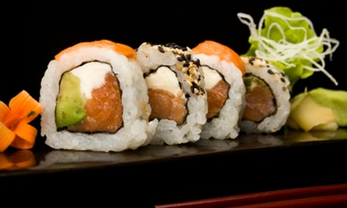 Michi Japanese Restaurant & Sushi Bar - Regina: $20 for $40 Worth of Dinner at Michi Japanese Restaurant & Sushi Bar (or $10 for $20 Worth of Lunch)