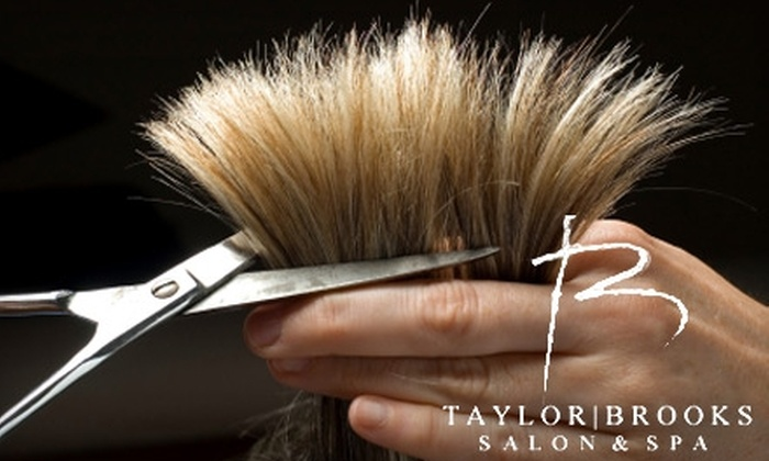 Taylor/ Brooks Salon & Spa - Cannery Village Assoc: $20 for Women's Haircut and Style (Up to $58 Value) or $12 for Men's Haircut and Style (Up to $39 Value) at Taylor/Brooks Salon & Spa in Alpharetta