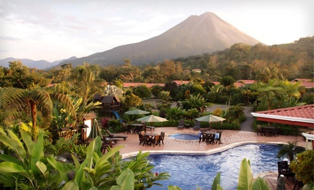 3-Night Stay for Two at Volcano Lodge Garden Resort or Similar Hotel Near the Arenal Volcano  - Desafio Adventure Company in