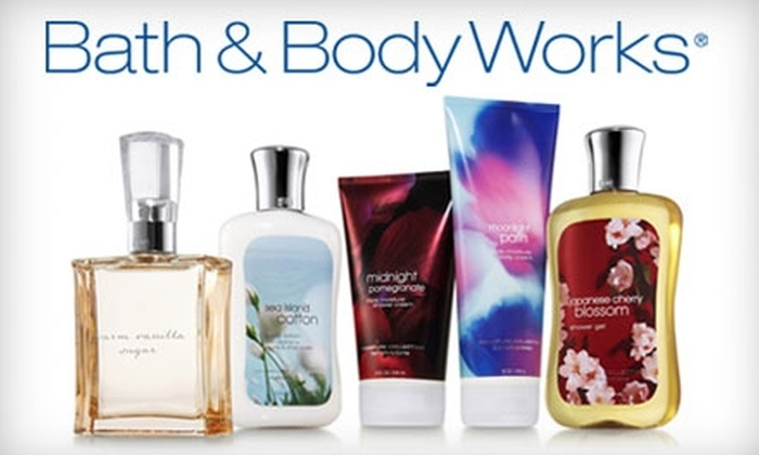 Bath & Body Works: $15 for $30 Worth of Fragrant Products from Bath & Body Works' Online Store