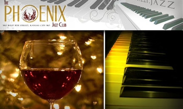Phoenix Jazz Club - Central Business District - Downtown: $10 for $20 Worth of Live Jazz, Drinks, and Grub at The Phoenix Jazz Club