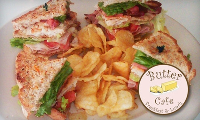 Butter Cafe - University Park: $6 for $12 Worth of Cafe Fare at Butter Cafe