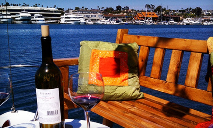 Ship 'N a Bottle - Ship 'N A Bottle at the Driscoll Marina: Cruise of Bay and Harbor with Wine for Two or Up to Six from Ship 'N a Bottle in Newport Beach (Up to 63% Off)