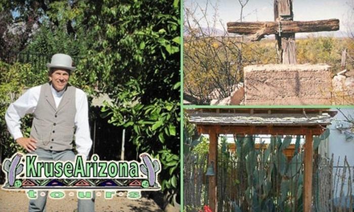 Kruse Arizona - Multiple Locations: $7 for One of Three Walking Tours of Tucson from Kruse Arizona Tours ($15 Value)