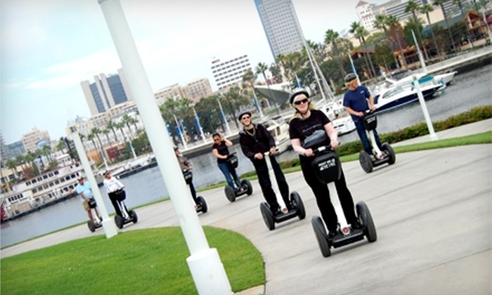 Segway Los Angeles - Downtown Santa Monica: $39 for a Two-Hour Guided Tour of Long Beach from Segway of Long Beach or of Santa Monica from Segway Los Angeles ($79 Value)