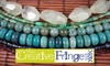 The Creative Fringe - Grand Haven: $20 for Two Jewelry-Making Classes at The Creative Fringe in Grand Haven
