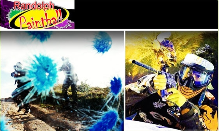 Randolph Paintball - Boston: $20 Paintball Outing ($41 Value, Includes Gear)