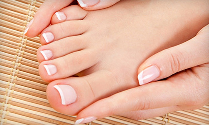 Essence Nails & Spa - Downtown Jackson: $22 for Manicure and Pedicure at Essence Nails & Spa ($45 Value)