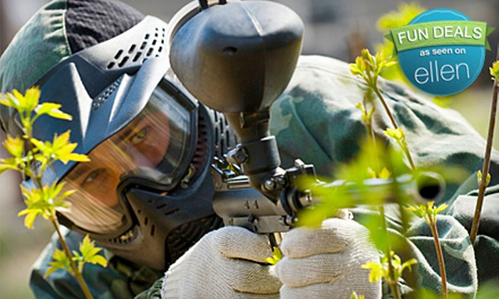 The Paintball Zone - Waterford: Paintball Day or Paintball Day with Equipment Rental at the Paintball Zone (Up to 51% Off)