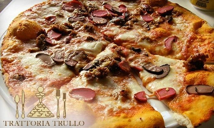 Trattoria Trullo - Ravenswood: $20 for $40 Worth of Fine Italian Fare and Drinks at Trattoria Trullo