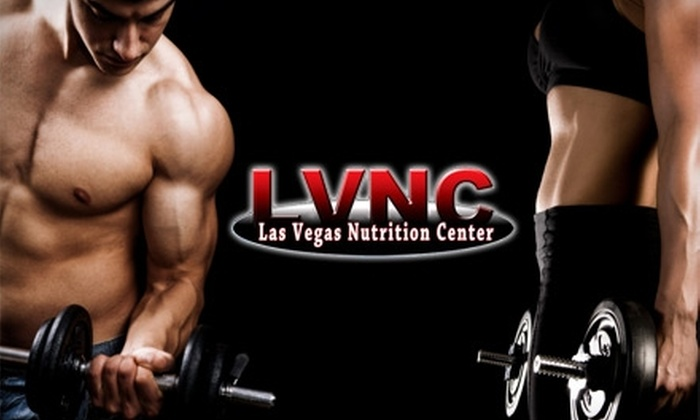 Las Vegas Nutrition Center - Multiple Locations: $18 for $40 Worth of Nutritional Goods at Las Vegas Nutrition Center