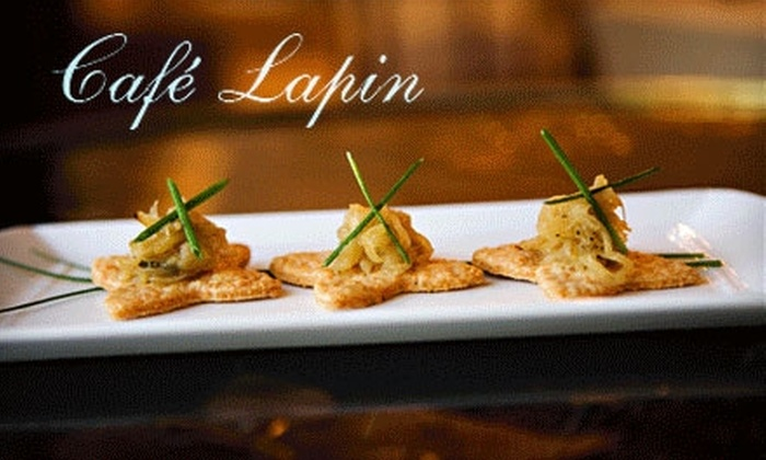 Cafe Lapin - Peachtree Hills: $10 for $25 Worth of French Bistro Fare at Café Lapin