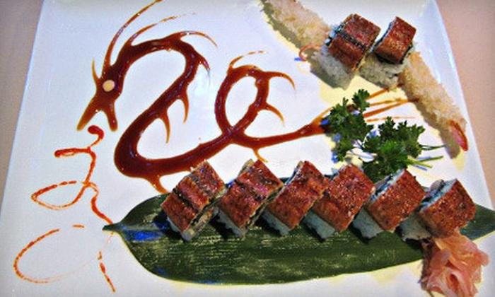 Tokyoto Japanese Restaurant - Chesapeake: $15 for $30 Worth of Sushi and Hibachi Fare at Tokyoto Japanese Restaurant in Chesapeake