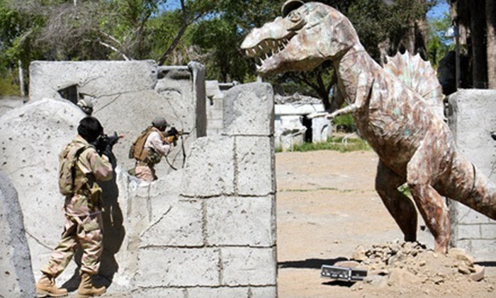 Jungle Island Paintball Park - Alberhill District: Admission for One or Outing for One, Two, or Four at Jungle Island Paintball Park in Lake Elsinore (Up to 66% Off)