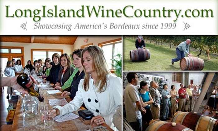 Long Island Wine Country - Midtown South Central: $95 for Any 2010 Premium VIP All-Inclusive Wine Tour