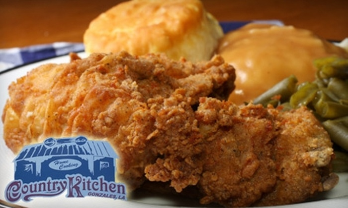 Country Kitchen - Gonzales: $7 for $15 Worth of Country Cuisine and Drinks at Country Kitchen in Gonzales