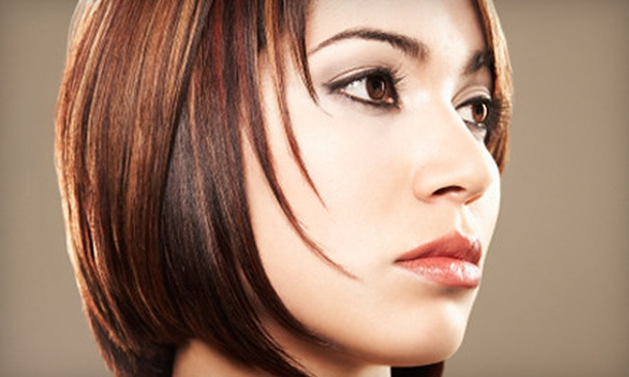 Salon LaVish - Wooster: Brow Wax, Haircut with Conditioning Treatment, or Partial Highlights at Salon Lavish in Wooster (Up to 55% Off)