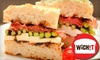 WICHIT - Lawrence: Specialty Sandwiches or Catering from Wichit. Choose from Two Options.