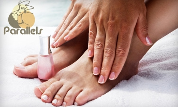 Parallels Hair Design - Sudbury: $32 for a Mani-Pedi at Parallels Hair Design
