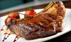 Statler Grill - Midtown: $59 for a Steak House Dinner for Two with Appetizer and Side Dishes at Statler Grill (Up to $133 Value)