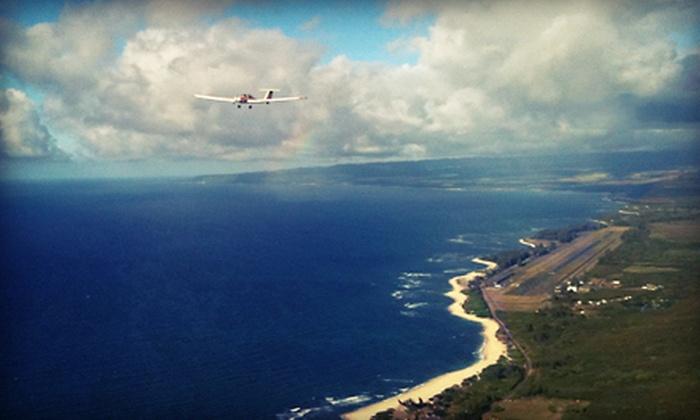 Acroflight International - North Shore: $110 for Scenic Flight over Waimea Falls from Acroflight International ($220 Value)