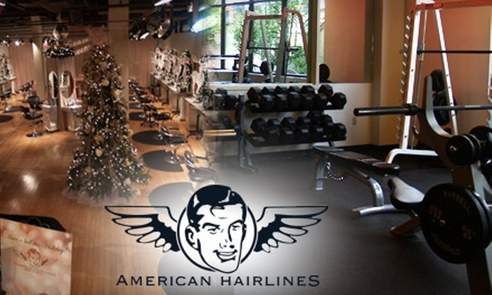 American Hairlines - Bethlehem: $35 for an Eight Week Fitness Membership ($203 Value) or $75 for a Half Hour Calming Massage, Express Facial, and One Week Fitness Membership ($210 Value) at American Hairlines Body & Soul