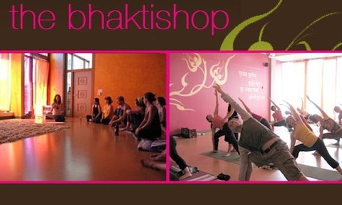 The Bhaktishop  - Hosford - Abernethy: $50 for 10 Yoga Classes at The Bhaktishop ($100 Value)