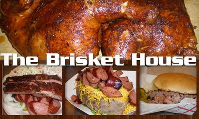 The Brisket House - Great Uptown: $6 for $12 Worth of Barbecue and Drink at The Brisket House