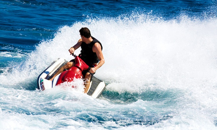 Big Power Sports - Green Lake: $145 for a Four-Hour Jet-Ski Rental for Two from Big Power Sports ($290 Value)