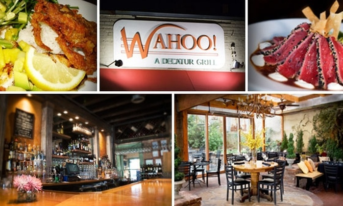 Wahoo! Grill - Decatur: $20 for $40 Worth of Eclectic Seafood Cuisine at Wahoo! Grill