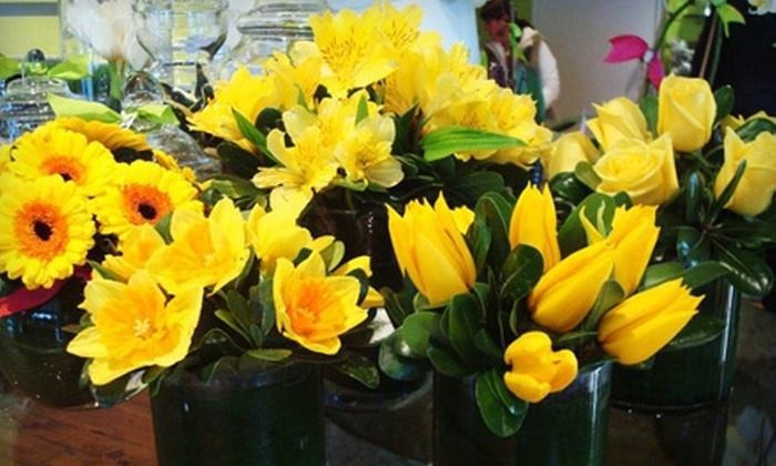 Quills Bunches - Greenville: $20 for $40 Worth of Fresh Flower Arrangements from Quills Bunches