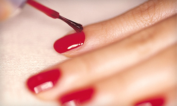 Nails by Lisa at Carol Carey Couture - Brentwood: Traditional or Deluxe Mani-Pedis at Nails by Lisa at Carol Carey Couture in Brentwood (Up to 75% Off)
