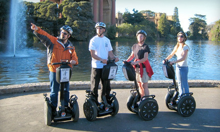 The Electric Tour Company - Russian Hill: $38 for a Wharf and Waterfront Segway Tour from The Electric Tour Company ($70 Value)
