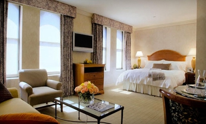 The Manhattan Club - Clinton: $199 for a One-Night Stay in a Junior Executive Suite at The Manhattan Club in New York City (Up to $409 Value)