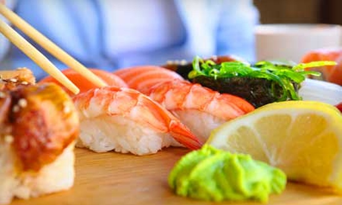 Dragon Gate by Phoenix - Davenport Ranch: Sushi Meal with Edamame and Sushi Rolls for Two or Four at Dragon Gate by Phoenix