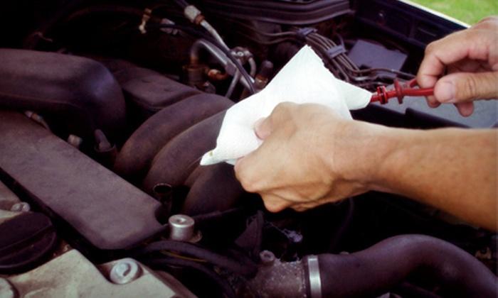 Sidney Transmission & Autocare - Sidney: Oil Change, Transmission Service with Safety Inspection, or Both at Sidney Transmission & Autocare (Up to 56% Off)