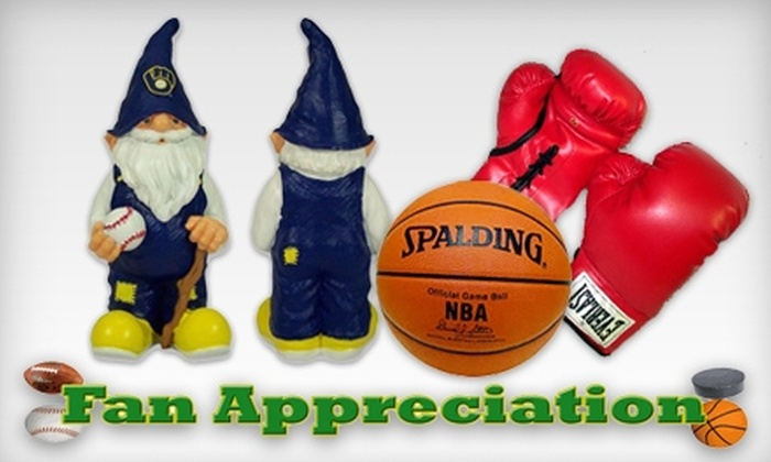 Fan Appreciation - Brookfield: $20 for $40 Worth of Sports Apparel, Memorabilia, and More at Fan Appreciation