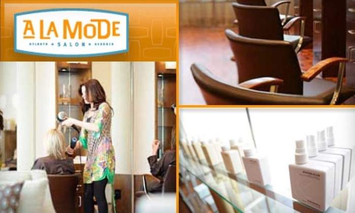 À La Mode Salon - Berkeley Park: $45 for $100 Worth of Salon Services at À La Mode Salon