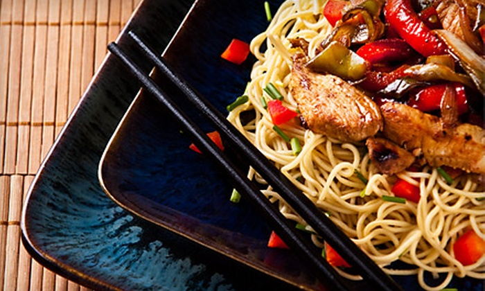Chin San Asian Bistro & Sushi Bar - Downtown Thousand Oaks: $20 for $40 Worth of Asian Cuisine and Drinks at Chin San Asian Bistro & Sushi Bar in Thousand Oaks