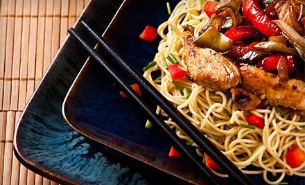 $40 Groupon to Chin San Asian Bistro & Sushi Bar - Chin San Asian Bistro & Sushi Bar in Thousand Oaks