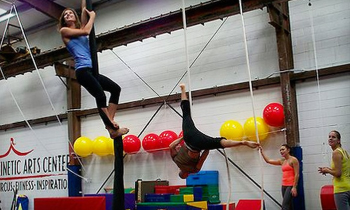 Kinetic Arts Center - Acorn: Three Circus or Fitness Classes at Kinetic Arts Center in Oakland