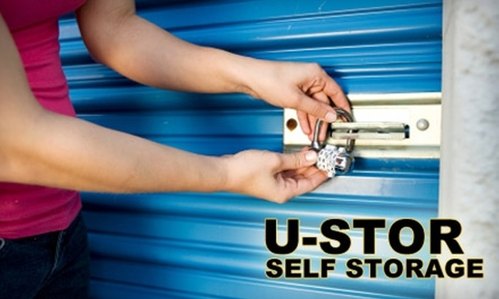 U-Stor - Multiple Locations: $25 for $100 Worth of Storage at U-Stor