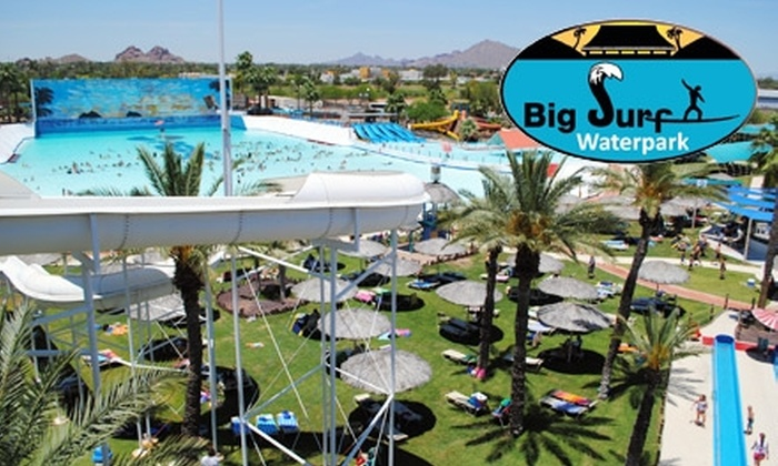 Big Surf Waterpark - University Heights: $13 for a Single-Day Pass ($26 Value) or $34 for a Season Pass ($69 Value) at Big Surf Waterpark in Tempe