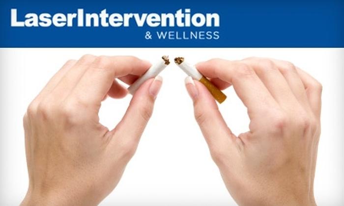 LaserIntervention & Wellness - Toronto (GTA): $125 for Laser Smoking Cessation Program at LaserIntervention & Wellness