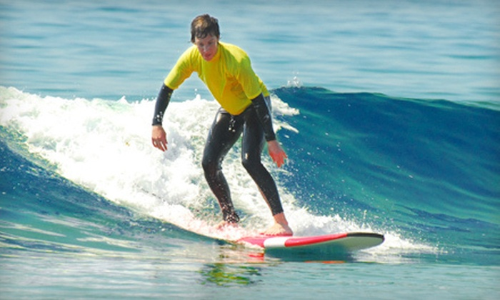 Tofino Surf School - Tofino: Three-Hour Beginner or Intermediate Surfing Lesson from Tofino Surf School (Up to 53% Off)