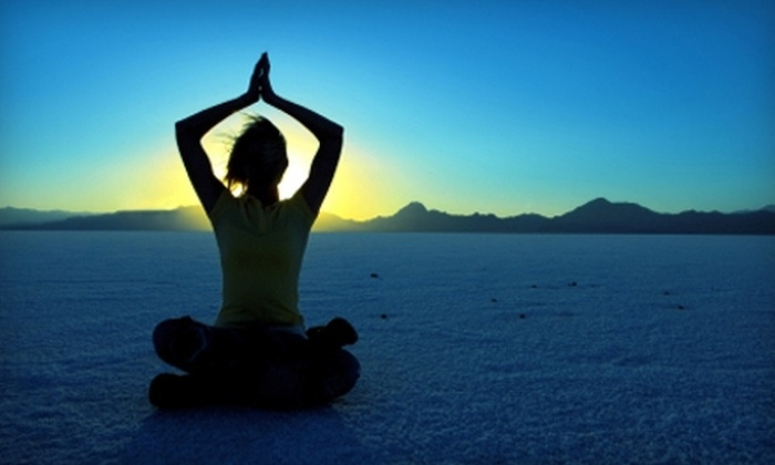 New Day Yoga - Multiple Locations: $20 for Yoga, Pilates, and Acupressure at New Day Yoga