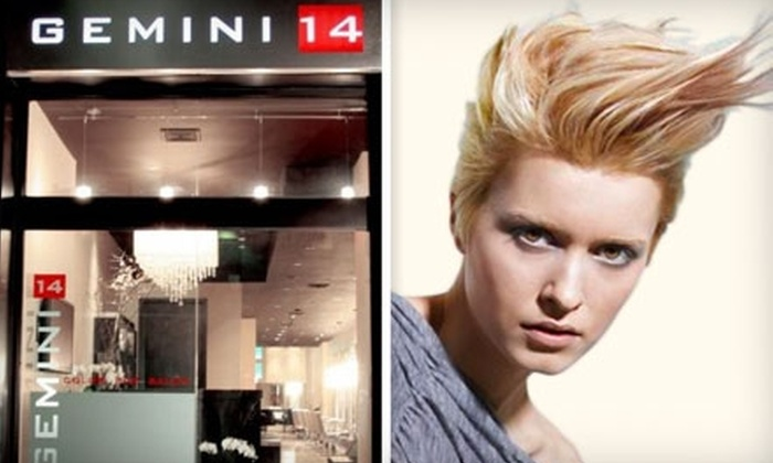 Gemini 14 - Chelsea: $45 for a Blowout and Kérastase Treatment at Gemini 14 ($90 Value)