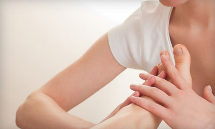 Beijing Herbal Foot Massage - Multiple Locations: $47 for 40-Minute Chair Massage and 40-Minute Foot Massage at Beijing Herbal Foot Massage ($70 Value)