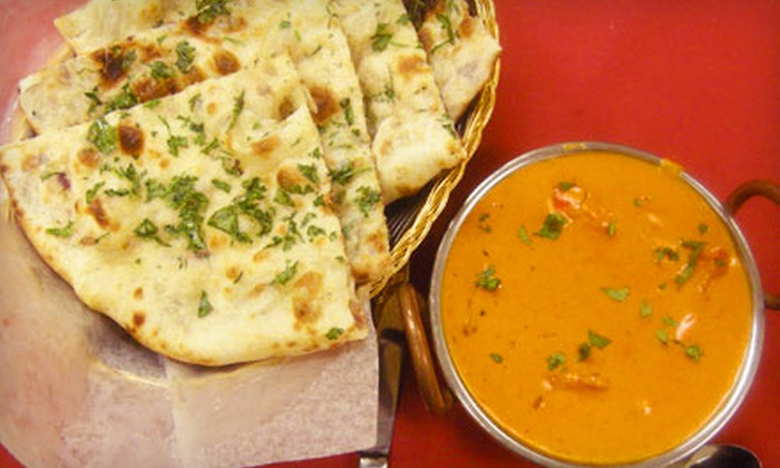 iSpice Fine Indian Dining - North Brunswick Township: One appetizer (up to a $6.95 value)  - Two orders of naan (up to a $3.50 value each)  - Four entrees (up to a $15.95 value each)  - Four rounds of mango lassi (up to a $2.95 value each)
