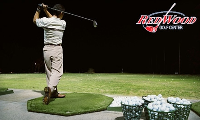 Redwood Golf Center - East Seattle: $59 for a 25-Bucket Punch Card at Redwood Golf Center in Redmond